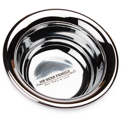 Mr. Bear Family Bowl Stainless Steel
