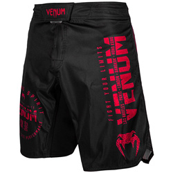 Venum Signature Fightshort Black/Red