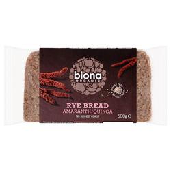 Organic Rye Bread Amaranth