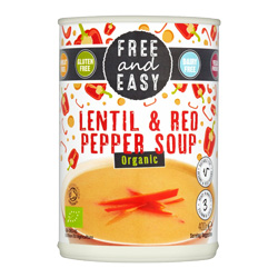 Lentil & Red Pepper Soup