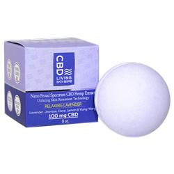 CBD Living Bath Bomb Lavender