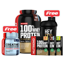 100% Whey Protein Bundle Pack