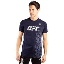 UFC Authentic Fight Week Men Tee Shirt Navy Blue