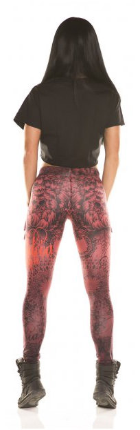 Fitness-Leggings fur Damen