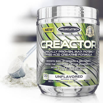 Creatine concentree Hcl et creatine sous sa forme libre