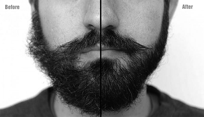 Huile parfumee pour barbe