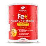 Fe + Vitamin C + B-complex : Complexe de vitamines et minéraux en poudre