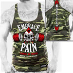 Embrace Pain 190 : V-Tank Top