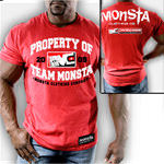 Team Monsta-34R : Bodybuilding T-Shirt