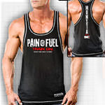 Pain is Fuel-Train 62 : T-shirt musculation