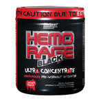 Hemo Rage Black Ultra : Booster de force hardcore