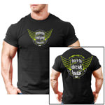 SOFT: Born to Wreak Havoc : Bodybuilding T-Shirt