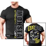 Bad Ass : T-shirt musculation