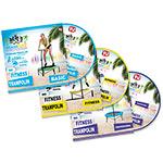 Set 3 Dvd Trampoline : Set 3 DVD pour Bodyfit Trampoline
