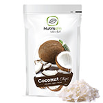Coconut Chips : Getrocknete Kokosnuss-Chips