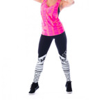 Supplex Leggins Tattoo 215 BL : Leggings Fitness Femme