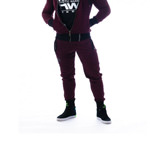 Sweatpants Quilted AW 106 BO : Jogginghosen Nebbia