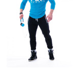 Sweatpants Elastan AW 108 BL : Pantalon de Jogging Nebbia