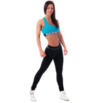 Mini Top Supplex Blue : Mini top Fitness Femme