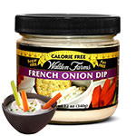French Onion Dip : Sauce oignons sans calories