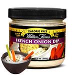 French Onion Dip : Sauce oignons sans calories