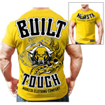 Built Tough Train Hard : Bodybuilding T-Shirt