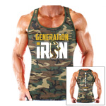 Generation Iron Official Licensed TankTop : Tank musculation