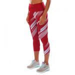 Rapid Crops Coral : Legging Fitness Femme