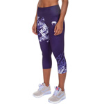 Neo Camo Crops : Damen Fitness Leggings