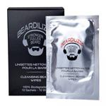 Cleansing Beard Wipes : Lingettes nettoyantes pour la barbe