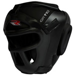 Zero Impact Grill -X Leather Head Guard : Casque de protection