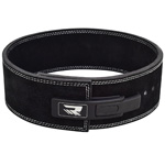 Belt Pro Liver Buckle Black Leather : Ceinture de levage