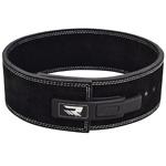 Belt Pro Liver Buckle Black Leather : Ceinture de levage