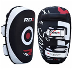 Arm Pad King White/Black : Thaï pads