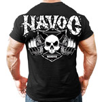 Havoc Barbell Black : T-shirt musculation