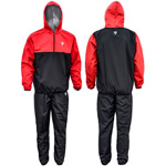 Clothing Sauna Suit Black Hood : Combinaison de sudation