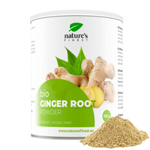Ginger Root Powder : Racine de gingembre bio en poudre