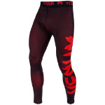 Giant Spats Black/Red : Pantalon de compression