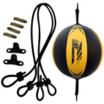 Speed Double End Ball Multi Yellow : Ballon de frappe avec double attache et corde