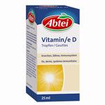 Vitamine D : Vitamine D sous forme de gouttes