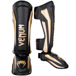 Elite Shinguard Black Gold