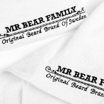 Mr. Bear Family Barber Towel