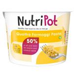 NutriPot Quattro Fromaggi Pasta : Plat préparé pâtes 4 fromages