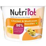 NutriPot Chicken & Mushroom Noodles : Plat préparé nouille au poulet et champignon