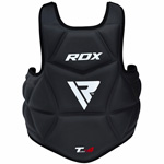 Chest Guard Molded T4 Black