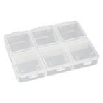 PillBox : Boîte à pilules à 6 compartiments