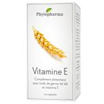Vitamine E : Huile de germe de blé en capsules