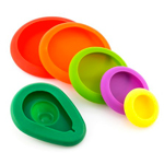 Silicone Food Storage Covers : Set de couvercles en silicone pour aliments