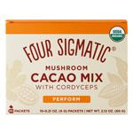 Mushroom Hot Cacao Cordyceps : Poudre de cacao soluble énergisante