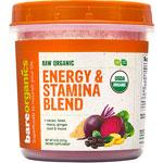 Energy & Stamina Blend : Complexe énergétique en poudre Bio